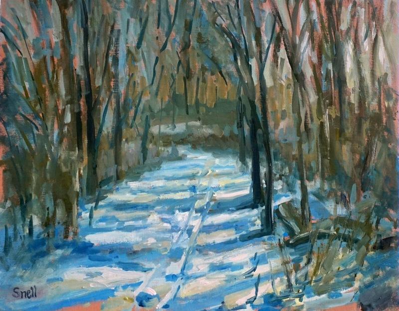 Amico Island - Snowy Path